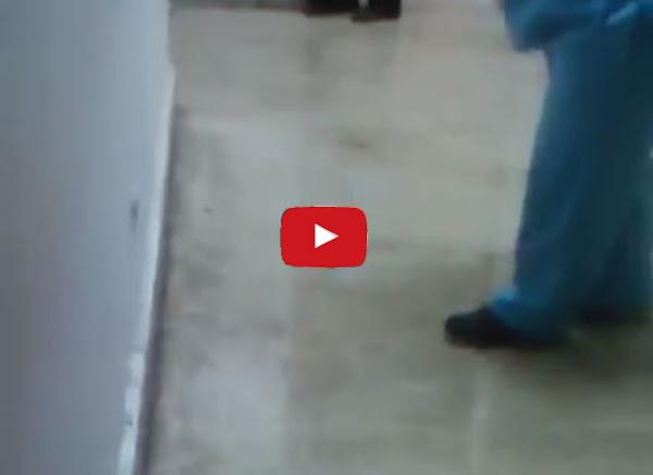 Inundada área de Rayos X del Hospital Vargas