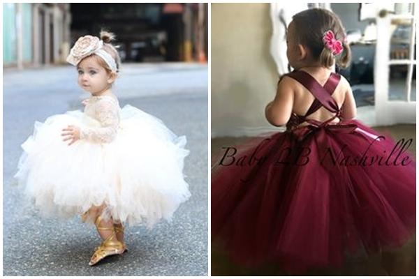 婚禮上只有小花童可以比我美!她們穿蓬蓬裙實在太可愛了~