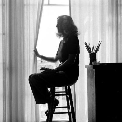 http://alesario.tumblr.com/post/173840497058/silhouette-of-bette-davis-at-home-in-california