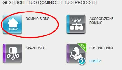 Come associare un dominio su register ad un sito su blogger