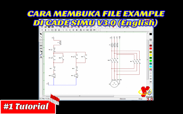 Cara Membuka File Example Di Cade Simu V3.0 (English) | Tutorial Bahasa Indonesia #1