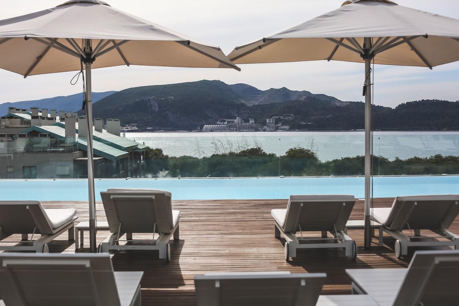 piscine troia design hotel