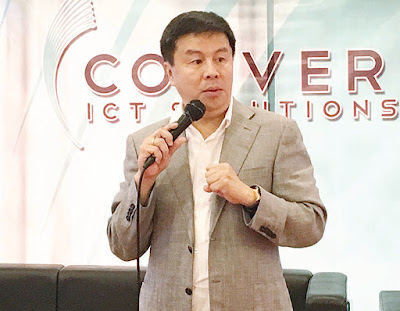 dennis anthony uy ceo of converge comclark ict fiber internet
