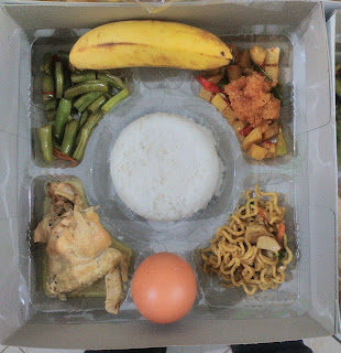 nasi kotak syukuran jogja, menu nasi box selamatan,