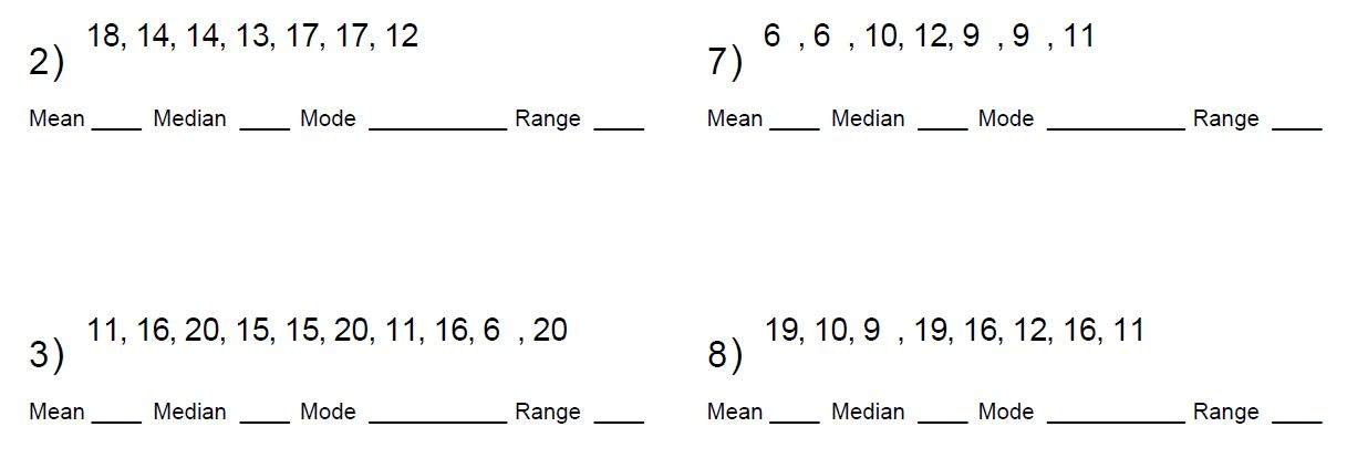 Mr. Howards ESOL Math: 3.3 7th Mean,Median, Mode, MAD, Box and ...