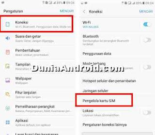 Cara Nonaktifkan Slot Sim Card HP Samsung