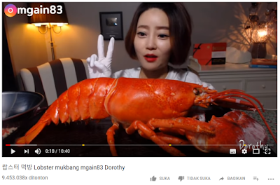 """Inilah 5 video """"MUKBANG"""" yang viewer videonya terbanyak di tahun 2018"""