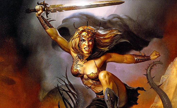 Hervor, Nimrael, mitoloji, İskandinav mitolojisi, Kurt ve köpeklere bırakılan Hervor, Savaşçı kadın Hervor, Mitolojide kadın karakterler, Savaşçı kadın, Norveç mitleri, Valkür Hervor, Valkür,