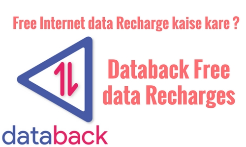Databack Free data Recharge
