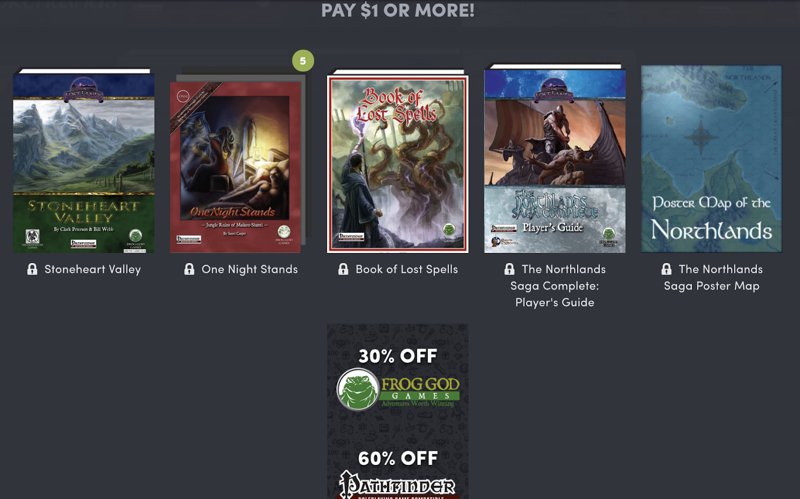 Humble Bundle Pinterest: Tenkar's Tavern: Flash Giveaway