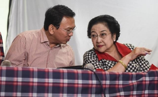 Di Tengah Jam Kerja Ahok Ketemu Megawati, Ternyata Bahas….