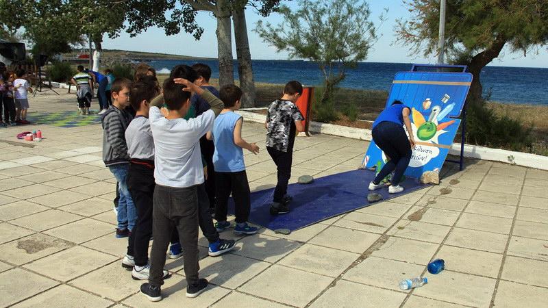 Με κέφι και συμμετοχή το  Λούνα Παρκ Ανακύκλωσης στη Σαμοθράκη