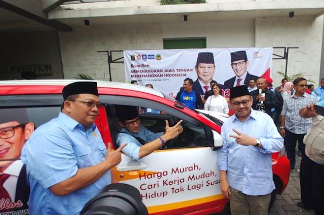 BPN Prabowo - Sandi Yakin Jateng Bukan Lagi Kandang Banteng
