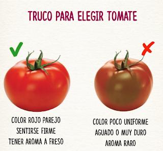Trucos para elegir alimentos TOMATE