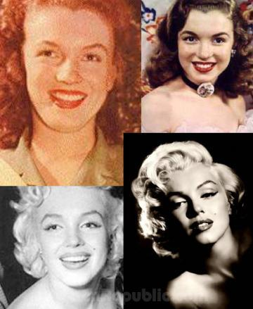 Marilyn Monroe Plastic Surgery Before and After Nose Job - Star