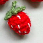 patron gratis fresa amigurumi