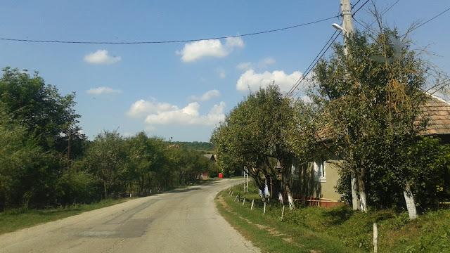 Wioski gdzieś na pograniczu Maramureszu i Transylwanii