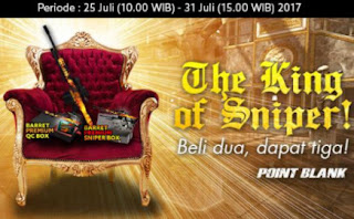 Promo Harga Spesial Item The King of Sniper