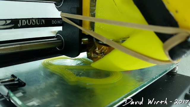 how to print PLA