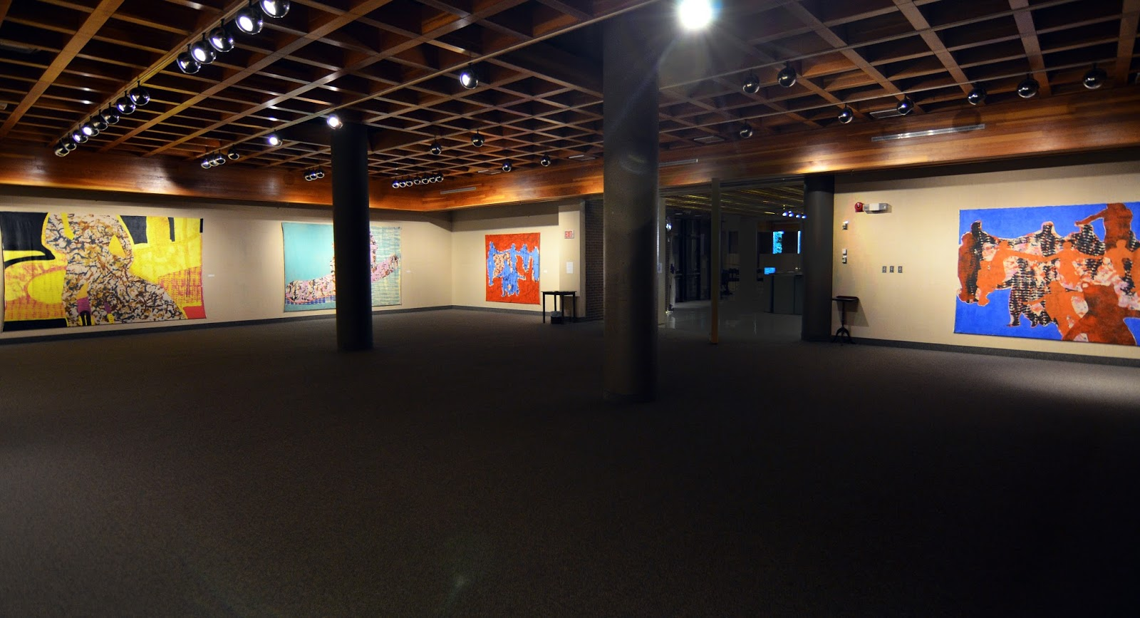 Brian Sloan artist, painting, art, Stories Stories We Tell, Chapter One, (Installation view)
