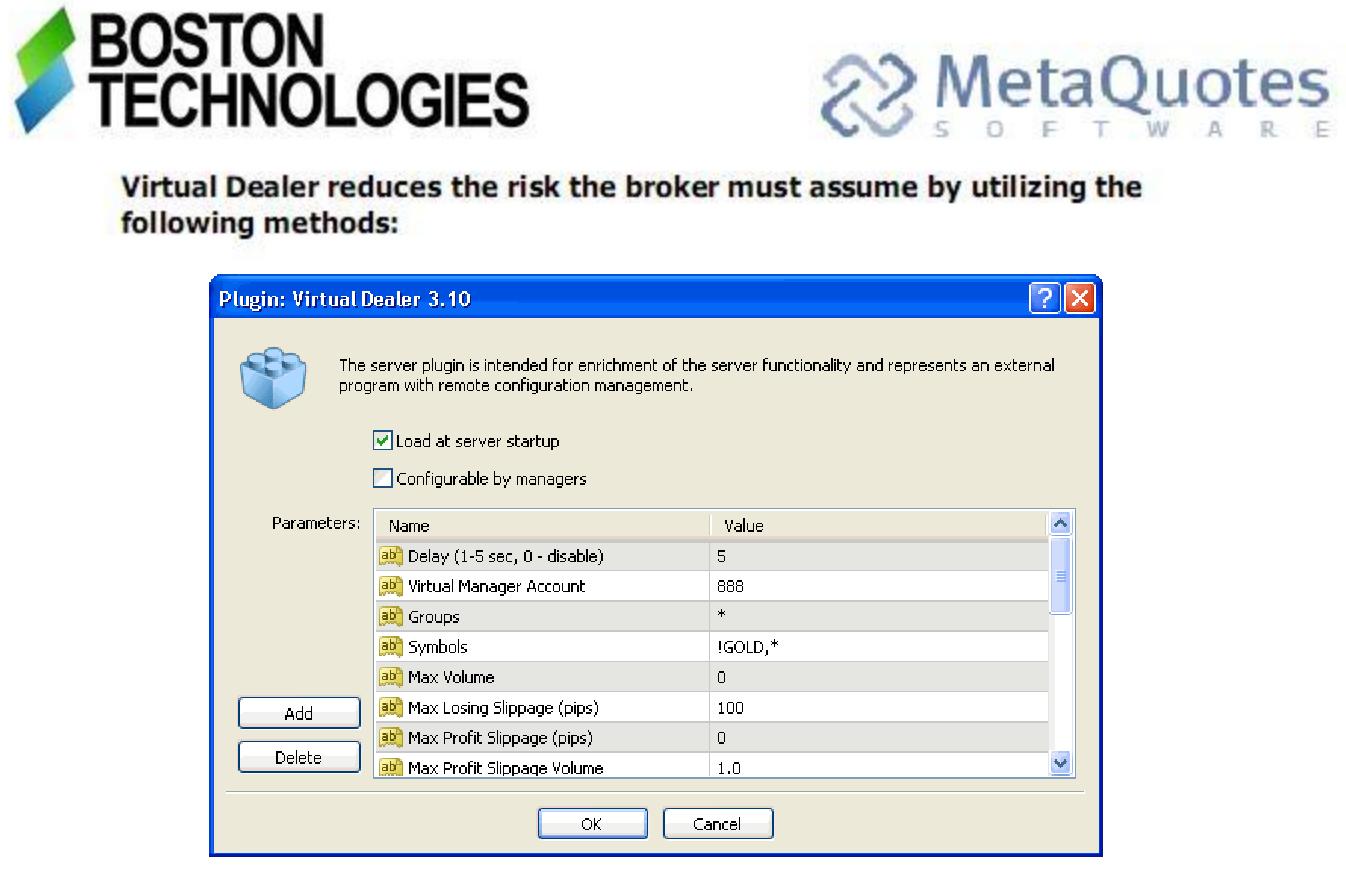 eng Andromeda-Trading com: Virtual Dealer Plugin