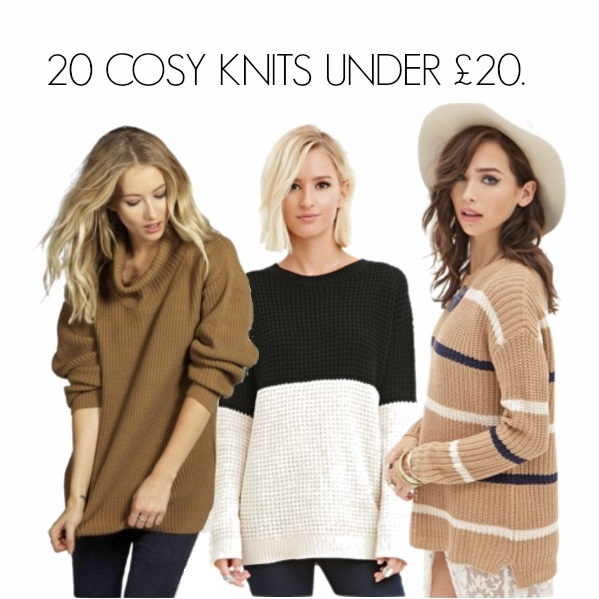 COSY KNITTED JUMPERS