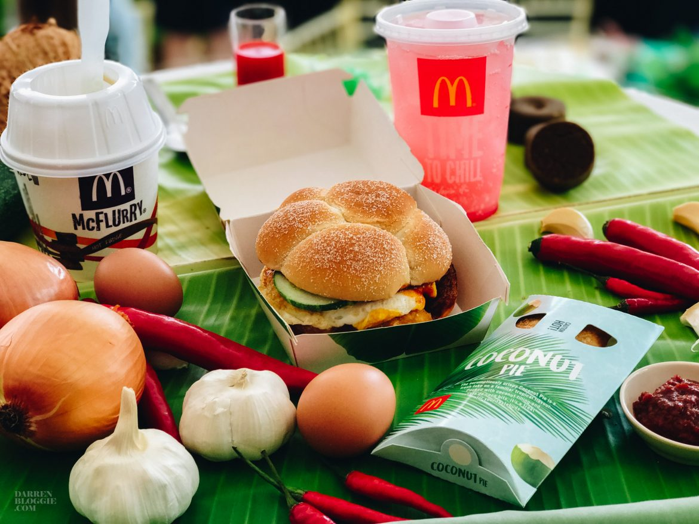 Sedaplicious Nasi Lemak Burger is Available at McDonald's from 13 July!