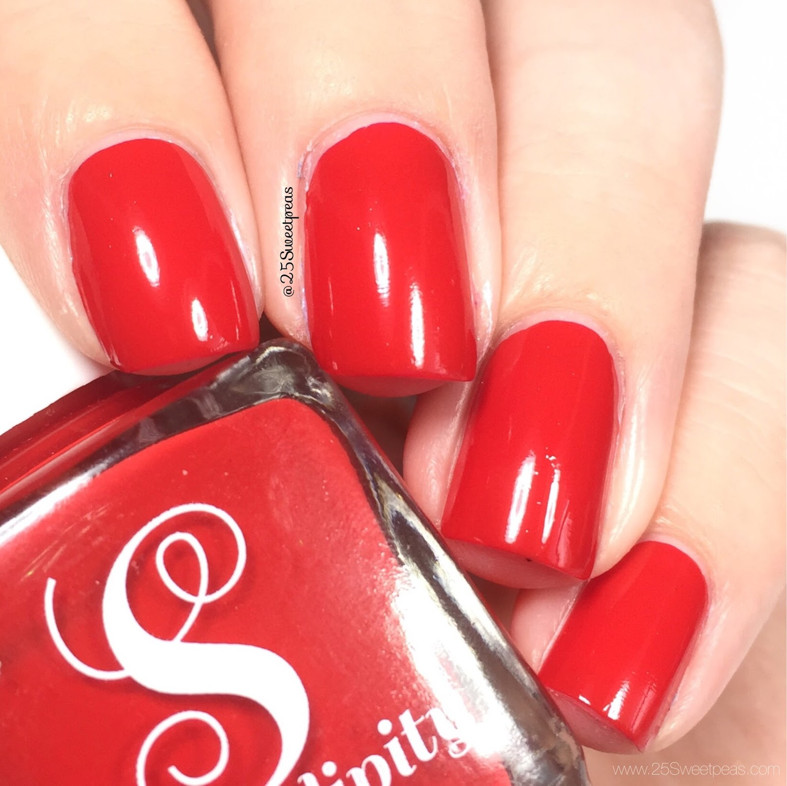 Serendipity Nail Polish Big Red Bow