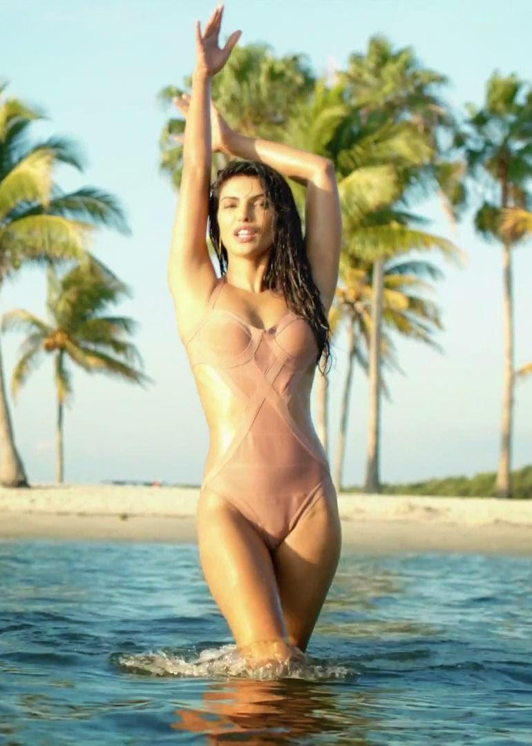 Priyanka Chopra Hot Bikini Photoshoot - Glamex-9630