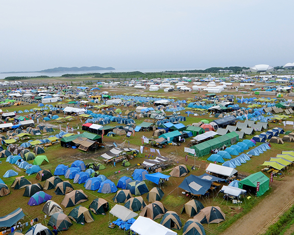 23rd WORLD SCOUT JAMBOREE Hostel/Guesthouse Blog in Japan