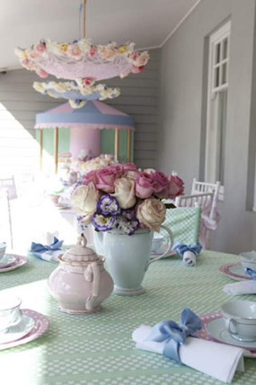 Mary Poppins Theme Birthday Tea Party