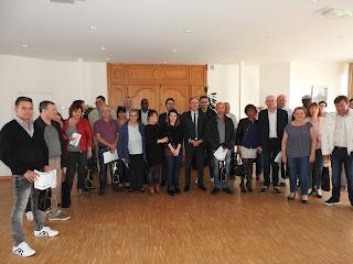 LE PETIT-QUEVILLY. Vingt-trois Quevillais ont été honorés en mairie de la médaille du travail.