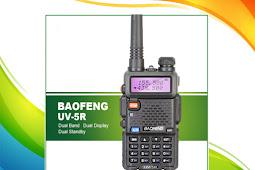 Cara Setting Frekuensi Repeater (Duplex) HT Baofeng UV-5R