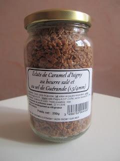 Éclats de caramel d'Isigny au beurre salé