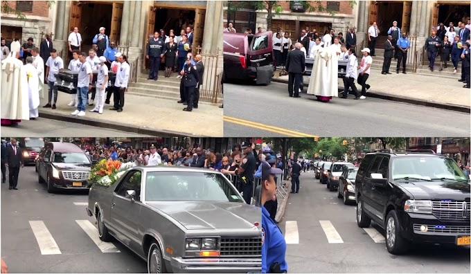 Multitud despide restos de estudiante dominicano asesinado en El Bronx en masivo duelo