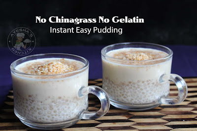 no chinagrass no gelatin pudding reipe instant pudding sago pudding milk pudding yuy sweets desserts in 5 minutes
