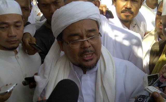 Begini Tanggapan Habib Rizieq Usai Kapolri Berikan Sambutan Di Aksi Super Damai 3