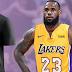 Nos Lakers, LeBron mantém número dos Cavs e volta a vestir 23