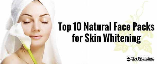 10 خلطات طبيعية لتفتيح البشرة