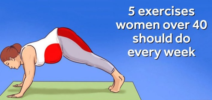 Exercises That Women Over 40 Have To Do Every Week
