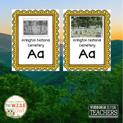 Virginia A to Z is a growing set of cards to highlight the great state of Virginia.