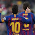 برشلونة اقترب من حسم لاليغا