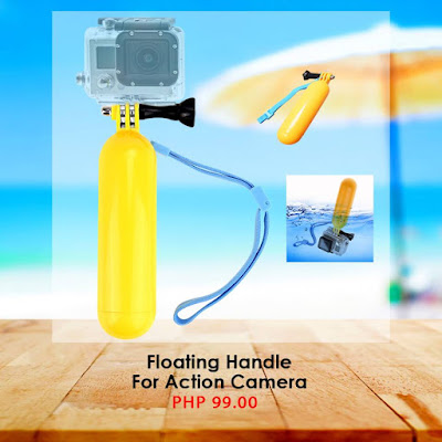 Water Floater for Action Cameras – Save your gear from slipping down the bottom with this floater!
