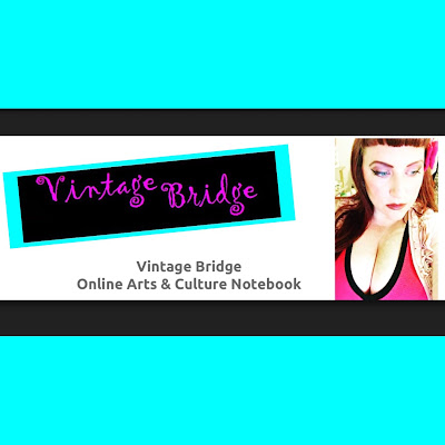 Vintage Bridge - arts and cultre notebok by Bridget Eileen