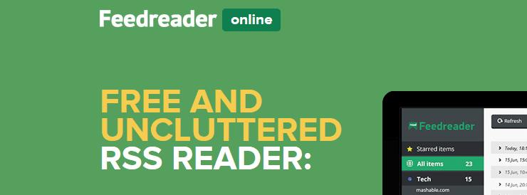 Feedreader Online RSS feed reader