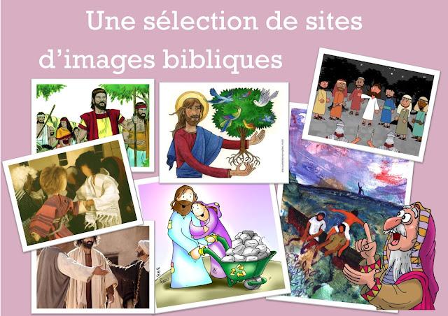 Une sélection de sites d'images bibliques