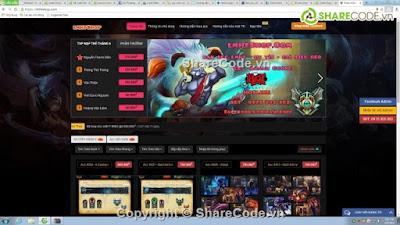 Share Code Bán Account LMHT