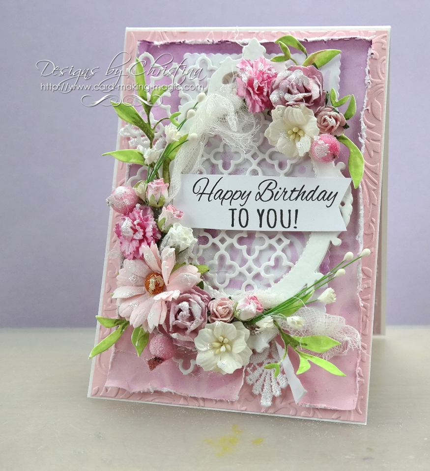 They Are Truly Cards For The Ladies And I Dont Know Anyone That Would Be Disappointed With Flowers Pink Has To One Of My Favourite Colours So