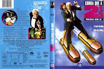 Filme Corra Que a Polícia Vem Aí 2 (The Naked Gun 2½ - The Smell of Fear) DVD Capa
