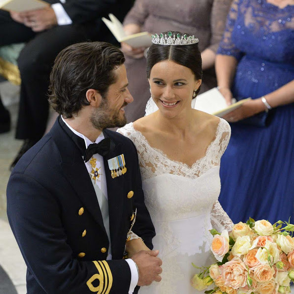 Prince Carl Philip And Sofia Hellqvist's Wedding Ceremony Photos